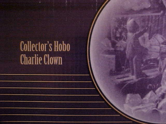 Hobo Charlie Clown Collectors & Box