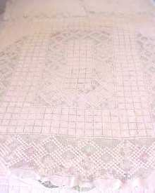 Lace Tablecloth Beautiful Pattern