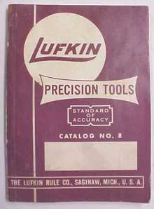 Lufkin No. 8 Catalog