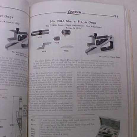 Lufkin No. 8 Catalog