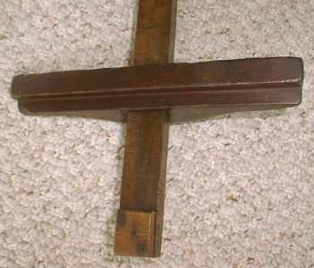 Antique Marking Gauge Large Fruitwood