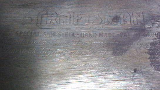 Craftsman Cross Cut Hand-Saw 24