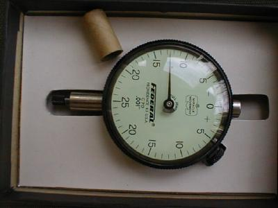Federal C70 Dial Indicator in the Box & Extras