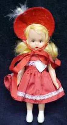 Nancy Ann Storybook Doll Valentines February