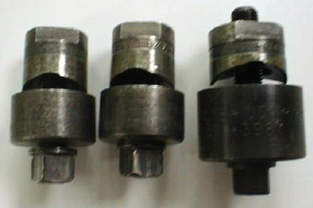Group of Three Greenlee Conduit Punches