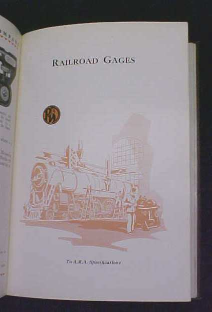 Pratt & Whitney 1929 Gages Catalog