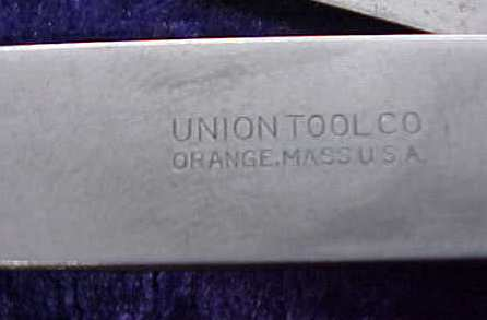 Union Thickness Gage Gauge Feeler