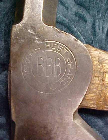 Bingham's Best Brand Half Hatchet
