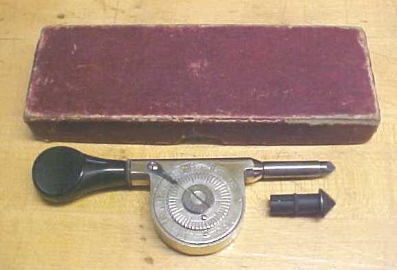 Starrett No. 107 Speed Indicator + Box