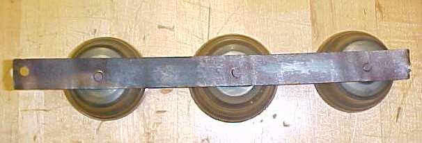 Sleigh Bells Bell Set Brass Barn Door