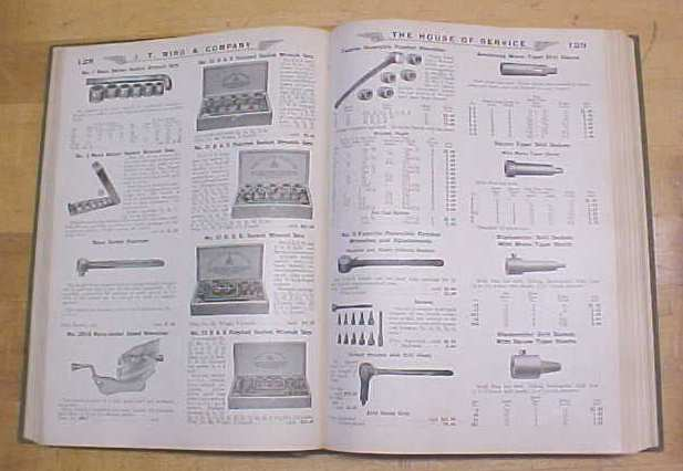 J.T. Wing Tool and Machine Catalog 1925