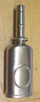 Miniature Nickel Plated Oil Can Pat. 1905