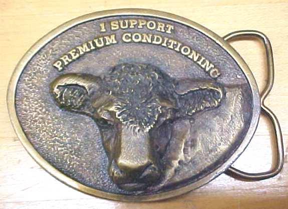 Siskiyou Bronze Cow Belt Buckle