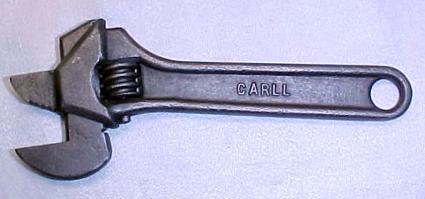 Carll Combination Nut / Pipe Wrench 6