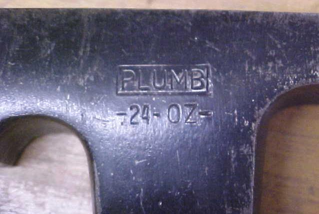 Plumb Brick Layer's Hammer Masons 24 oz.