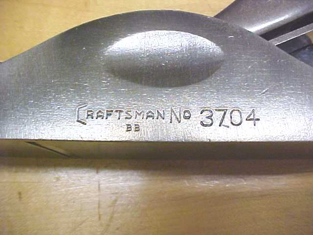 Craftsman No. 3704 Adjustable Throat Plane