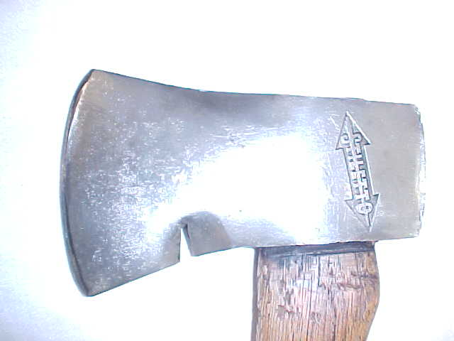 Stiletto Camp Ax or Hatchet Nice Logo!