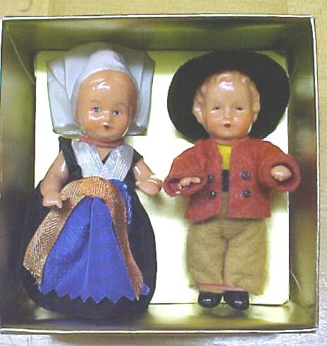 Dolls Miniature MIB Vintage Celluloid