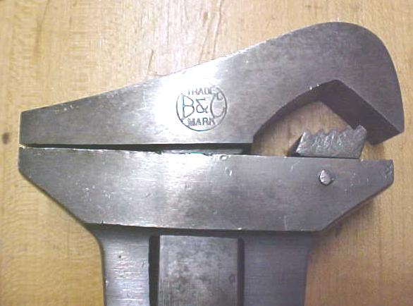 Bemis & Call Pipe Wrench Adjustable Combination 12