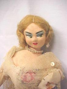 Roldan Klumpe Doll Ballerina
