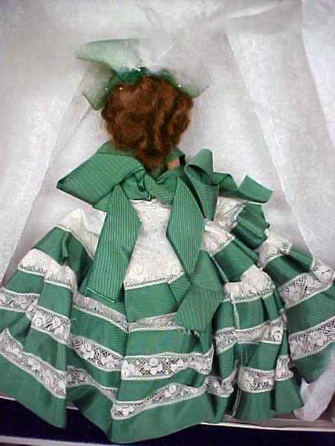 Hard Plastic Doll 1950's Auburn Hair Beauty