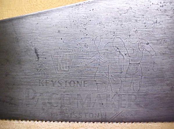 Disston K-3 Keystone Pacemaker Hand-Saw