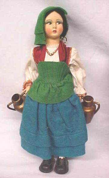 Ethnic Doll Italy Magis Eros Lg Size