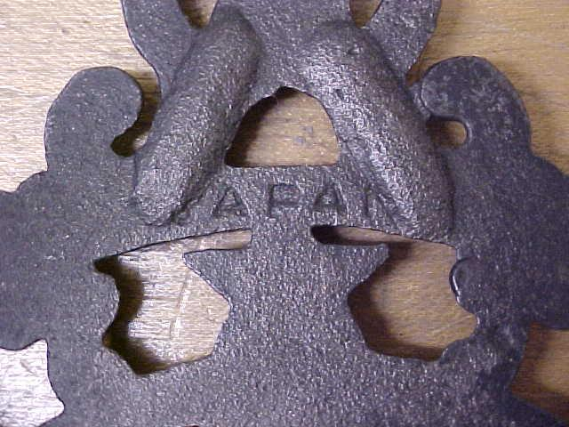Vintage Eagle Trivet Cast Iron