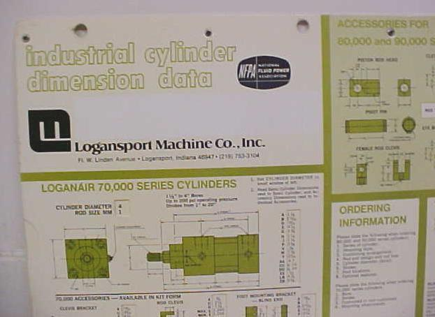Logansport Industial Cylinder Slide Calculator Fluid Power