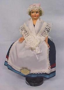 Ethnic Doll Eros Italy Miss Paris Vintage