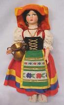 Doll Magis Roma Italy Felt Face 11