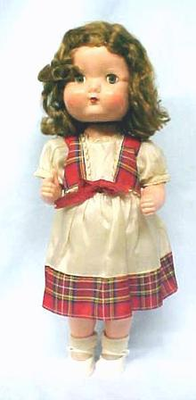 Roddy Doll England Walker 1950's HP