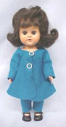 Doll Virga Pam Ginger  + Suit & Hat