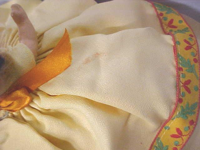 Nancy Ann Storybook Doll HP Autumn Dress