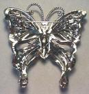 Deco Rhinestone Brooch Exquisite Butterfly