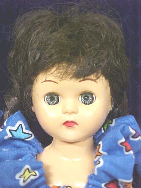 Virga Playmate Doll Brunette 1954 Pigtails