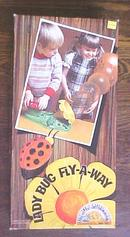 Lady Bug Fly-A-Way Game Marx 1977