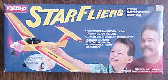 Star Fliers Yellow Star Plane Electric Powered