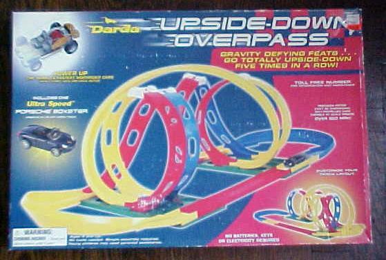 Upside Down Overpass Race Track Darda NIB
