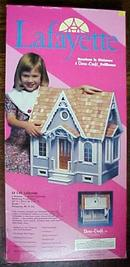 Dollhouse Victorian Cottage NIB Gingerbread