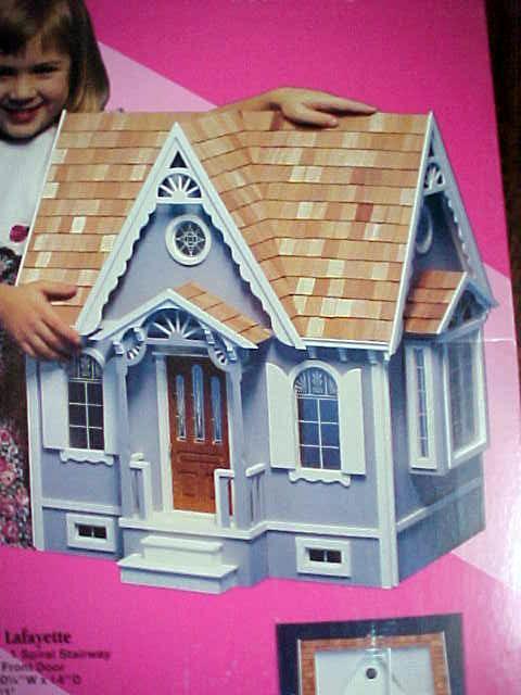 Dollhouse Victorian Cottage NIB Gingerbread