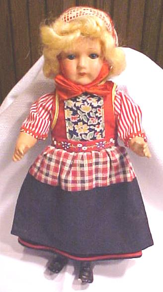 Composition Doll Ethnic Beautiful Roddy