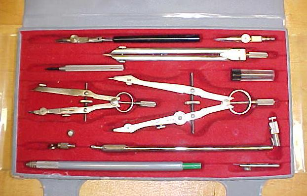 Henschel Drafting Set Drawing Divider