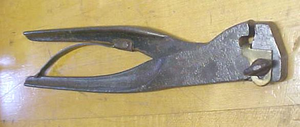 E. M. Boynton Saw Set Pliers Large Unique!