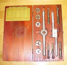 Henry Hanson Ace Tap & Die Set + Box