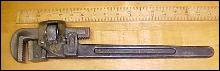 Trimont Pipe Wrench 18 inch Trimo 1918 Patent