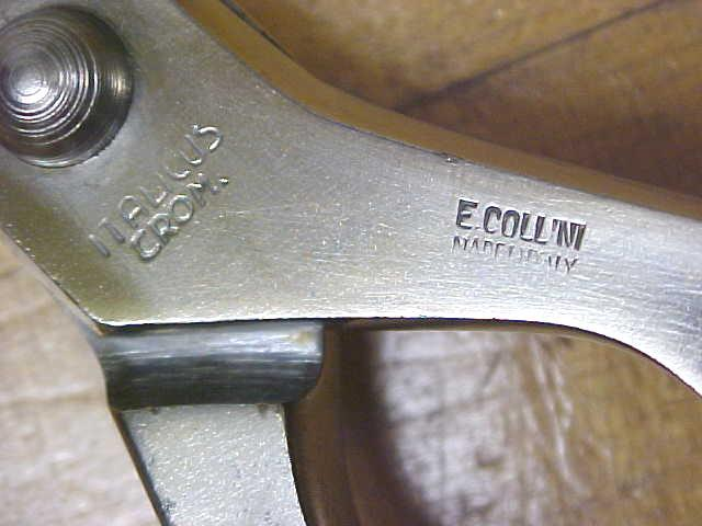 Collini Poultry Shears Scissors Italy Stainless Steel