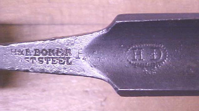 BOKER Tanged Gouge Chisel 7/8 inch H & R. BOKER