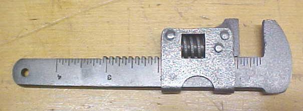 Smith & Egge Bicycle Wrench  5 inch Adjustable