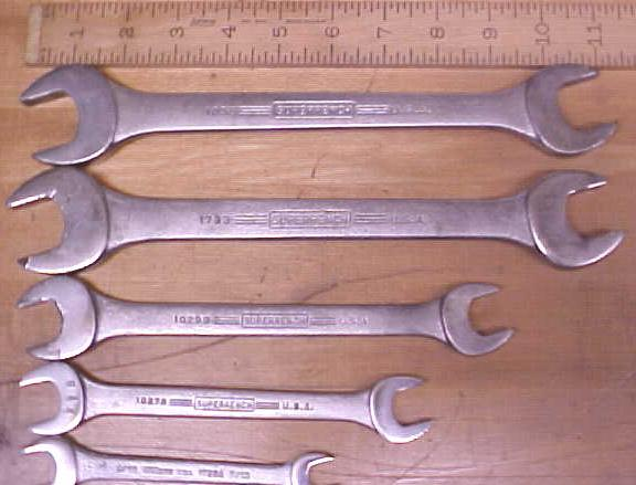 Williams SUPERRENCH Combination Wrench Set